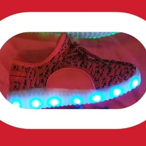 Other - UNISEX TODDLERS Size LED LIGHTING SHOES